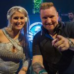 A true love story: Partyraiser's wife joins him on stage as surprise act