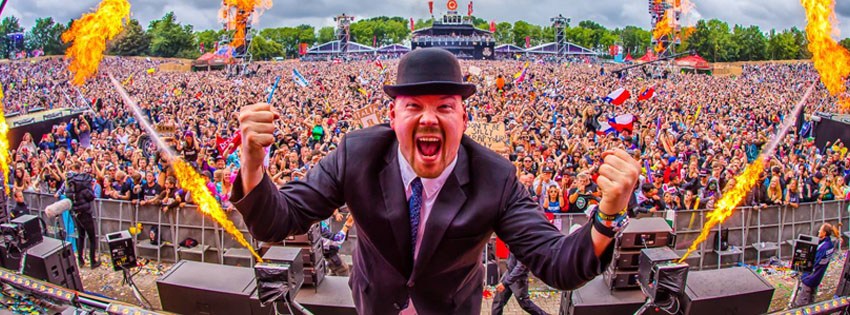 Dr  Peacock in 'The Spotlight' at Defqon 1 2019 during The Gathering