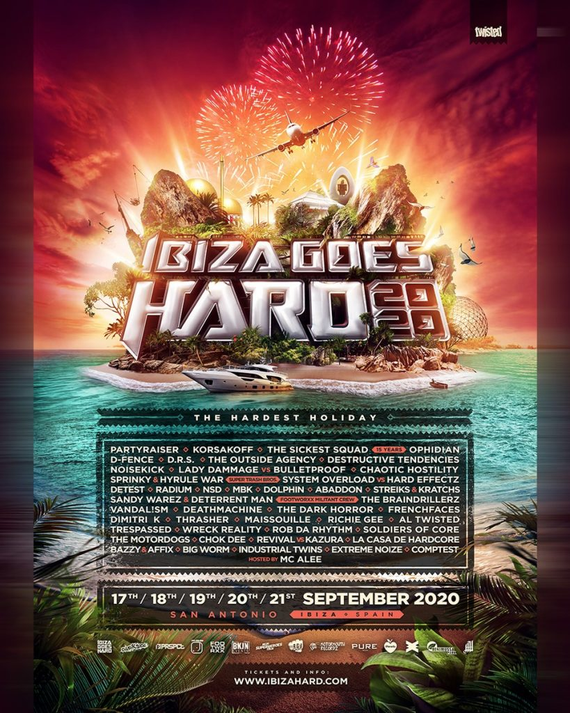 Ibiza Goes Hard 2020 line-up foto